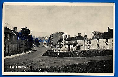 Old Postcard The Square Brill Bucks Buckingahmshire Nr Bicester Aylesbury Oxford