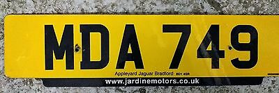 Cherished private personalised number plate MDA 749