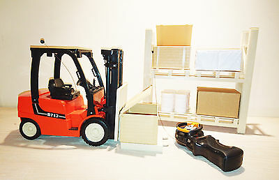 Remote Control Toy Forklift Truck 713 Scale Model 1:14 New Limited Number Aval