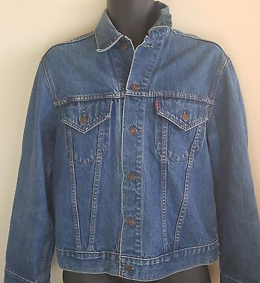 Vintage Levi's Big E trucker jacket - size 44?