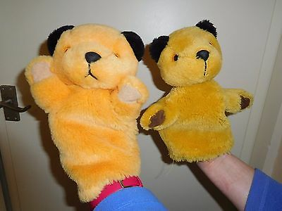 2 x SOOTY HAND PUPPETS