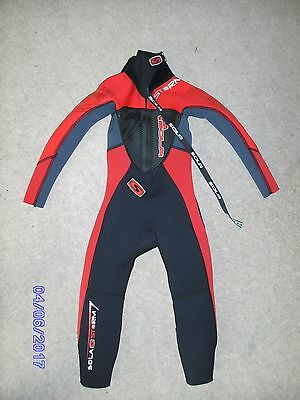 Wetsuit Kids Size Xxs - Worn For 1 Week Only!