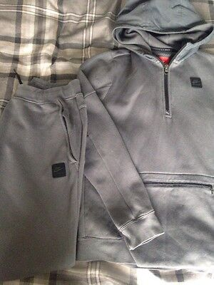 Boys Nike Air Max Tracksuit Hoodie Joggers Bottoms Age 13/15 Next Day