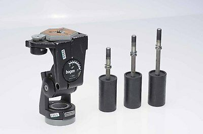 Bogen Manfrotto 3047 Tripod Head With Quick Release Plate Included          #312