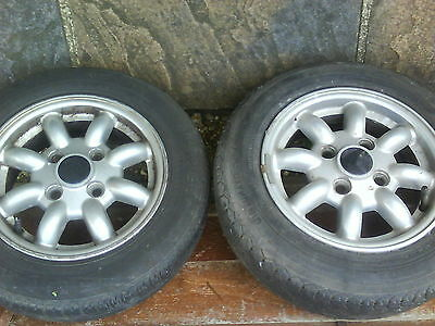 alloy mini wheels and tyres