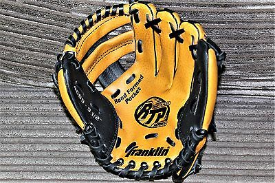 Franklin Leather Laced Baseball Mitt 9 1/2 Inch
