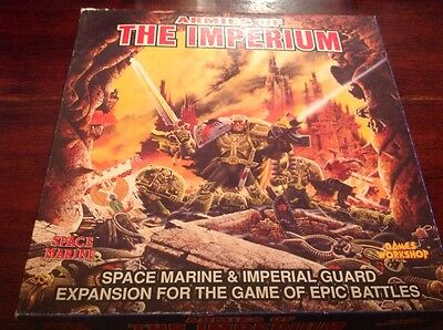 Armies of the Imperium, Epic 40k 2nd Editio - Unpunched, No Manual
