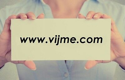 Domain Name - vijme.com for sale