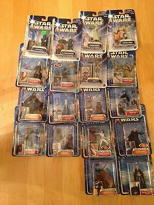 Hasbro Star Wars Lot Of 19 Figures+1 Ship From Attack Of The Clones*MIB*Sold Out