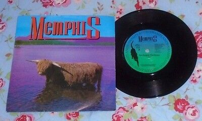 "MEMPHIS UK 7"" Single 45 YOU SUPPLY THE ROSES New Wave"