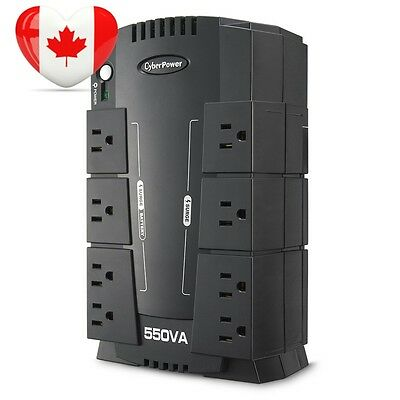 CyberPower CP550SLG Standby UPS 550VA 330W Compact