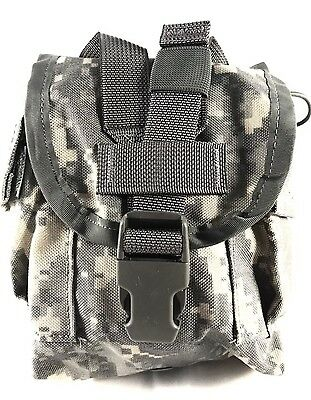 Used Us Military Canteen Pouch Acu Molle General Purpose Pouch