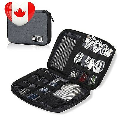 Hynes Eagle Travel Universal Cable Organizer Electronics Accessories Cases...