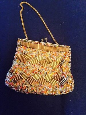 Heavy Weight Sequinned Purse