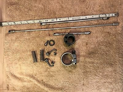 Model A Ford Gas and Timing Linkages, Steering Parts, Original,Vintage, Rat Rod