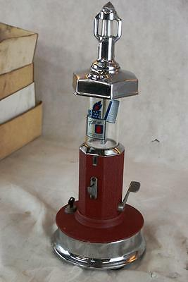 Van Lite Lighter Fluid Dispenser Machine Complete And Original Filler Cent Gum