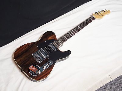 MICHAEL KELLY 1950s Series 1955 electric GUITAR Dark Striped Ebony - blemished
