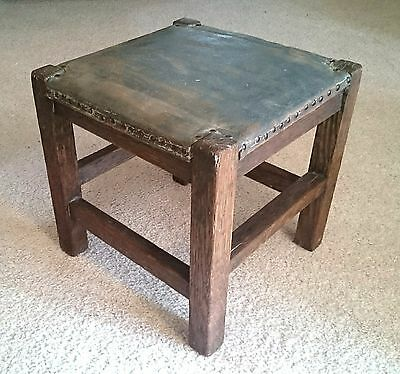 Mission Arts and Crafts stool footstool UNTOUCHED condition Stickley style