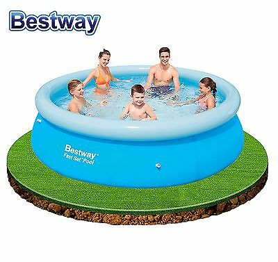 "BestWay Inflatable Fast & Easy Set Family Swimming Pool 8ft x 26"" or 10ft x 30"""