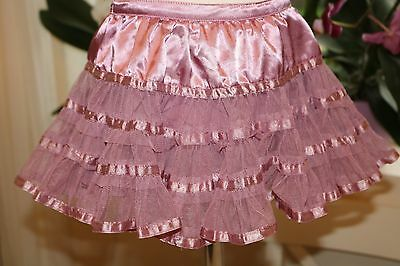 Baby Boutique Purple Frilled Soft Flowing Tutu Party Skirt Baby Girl 9-12 Months