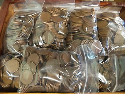 Unsearched 1 Pound Lot Wheat Penny Pennies Lincoln Cents Old US Coins 1909-1958