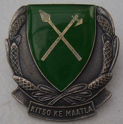 South Africa Bophuthatswana Defence Force Military School Cap Badge