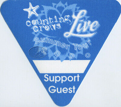 COUNTING CROWS & LIVE 2000 Backstage Pass blue