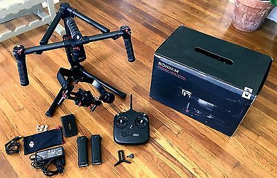 DJI Ronin M 3-Axis Handheld Gimbal Stabilizer in Box *USED ONLY A FEW TIMES *