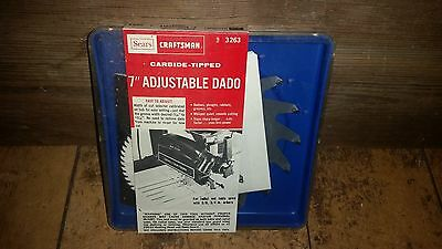 "Craftsman 7"" Adjustable Dado #3263 , NIB"