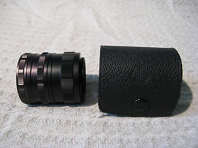 Asahi Pentax Camera Lens Extension Tube Ring Set of 3 in Case - M42 Mount