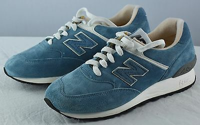New Balance 576 Made In England Blue Running Women's Shoes Sneakers 8.5