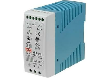 MDR-60-5 Pwr sup einheit pulse 50 W 5VDC 10A 85÷264VAC 120÷370VDC 330g MEANWELL