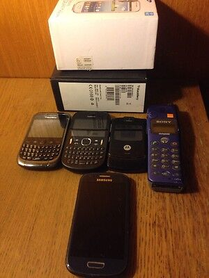 Job lot Untested Mobile Phones Samsung Nokia Sony Blackberry Motorola