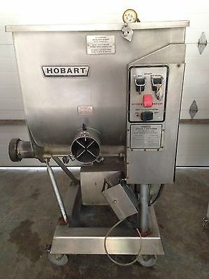 Hobart 4346 7.5Hp Meat Commercial Mixer Grinder