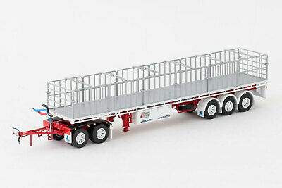 New Drake Maxitrans Freighter Road Train Trailer Set Betts Bower 1:50 ZT09143