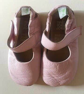 Baby Girl's Tip Toey Joey Pink Leather Shoes .12-18 Mths. EUR 22.