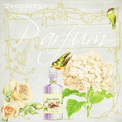CUSTOM French Parfum Perfume with Roses Ebay Compliant Auction Template Listing