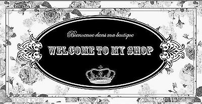 CUSTOM French Black Roses Ebay Compliant Auction Template Listing