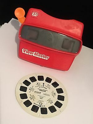 Michael Jackson Thriller 1984 View Master Disc & USA Made Viewer Collectible