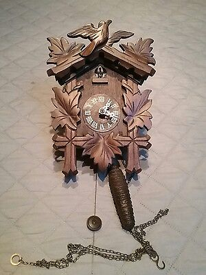 Vintage Black Forest  one weight  cuckoo clock