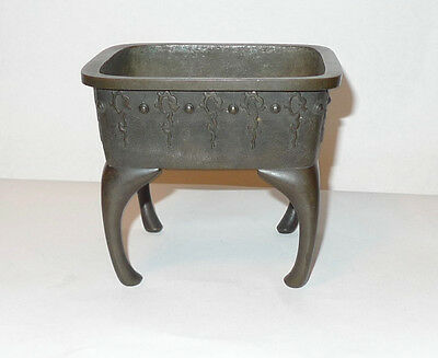Vintage/Antique Japanese/Chinese/Asian Bronze Censer Signed