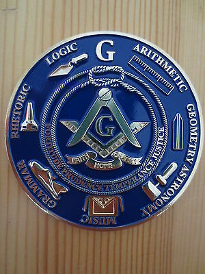 Masonic Auto Car Badge Emblems mason freemason E27 TOOLS