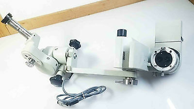 Zeiss Opmi Md T* Surgical Microscope Motorized Head With Manual Rotation Tested