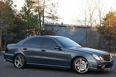 2007 Mercedes-Benz E-Class E63 AMG 2007 E63 AMG, Eurocharged Tune, Pano Roof, Keyless Go, P2 Package