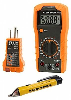Klein 69149 Electrical Test Kit Multimeter Measures Voltage/Replacement Tester