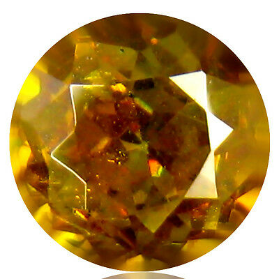 0.50 ct BEST GRADE DEEP ORANGE COLOR SPARKLING 100% NATURAL PAKISTAN SPHALERITE