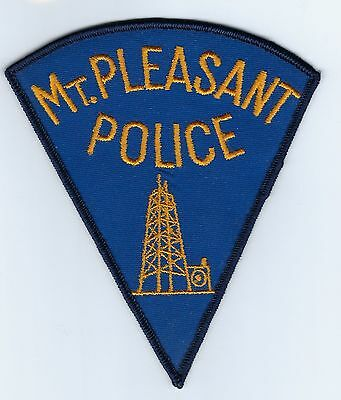 Mount Mt. Pleasant (Isabella County) MI Michigan Police Dept. patch - NEW!