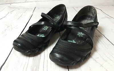 Pre-owned Women's Size 8 Black Casual Mary Jane Shoes by Sketchers