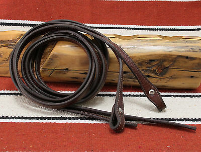 Champion Turf Dark Oil Fully Doubled Stitched Split Reins Super Supple Exc Cond