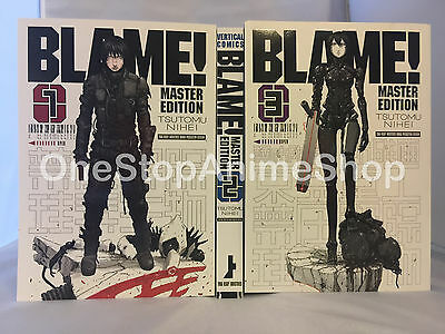 Blame! Master Edition manga Volumes 1-3 english paperback new